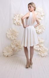 Wedding Backless And Lace Weddig Dress