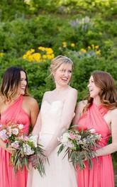 Convertible Infinity Bridesmaid Jersey Wrap Style Dress
