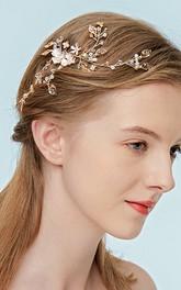Western Style Stylish Headbands with Flowers